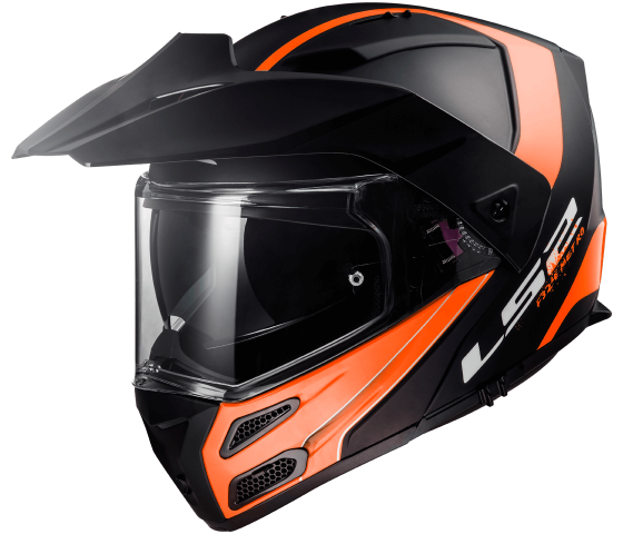 FF324 Metro EVO RAPID Matt Black Orange