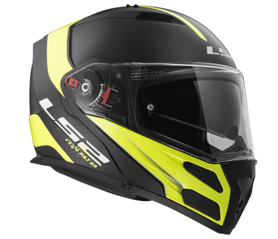 FF324 METRO RAPID Matt Black Gloss Yellow