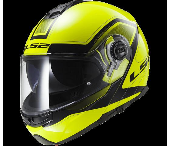 FF325 STROBE CIVIK HI-VIS yellow black