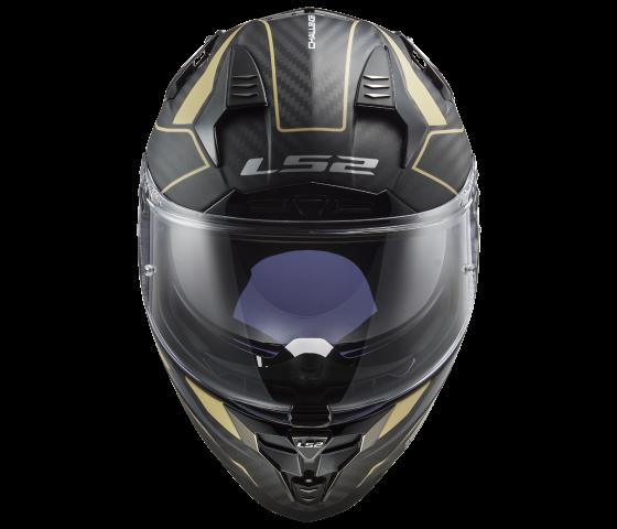 FF327 Challenger C GRID Matt Carbon Gold