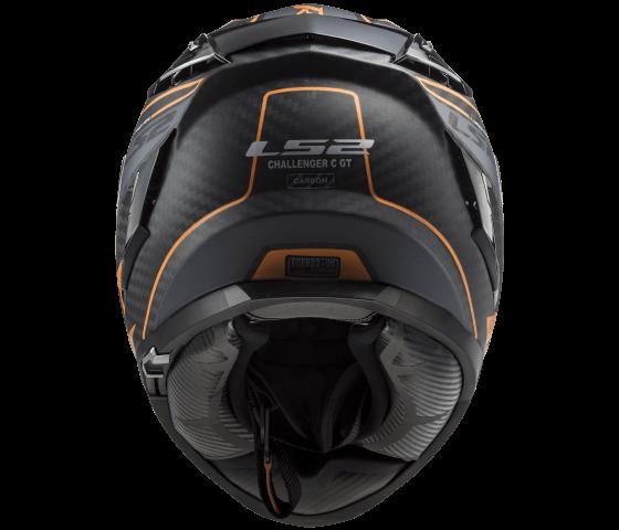 FF327 Challenger C GRID Matt Carbon Orange