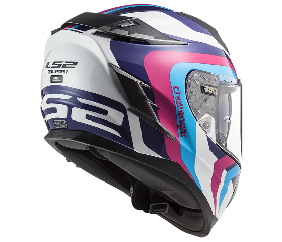 FF327 Challenger HPFC GALACTIC White Blue Pink