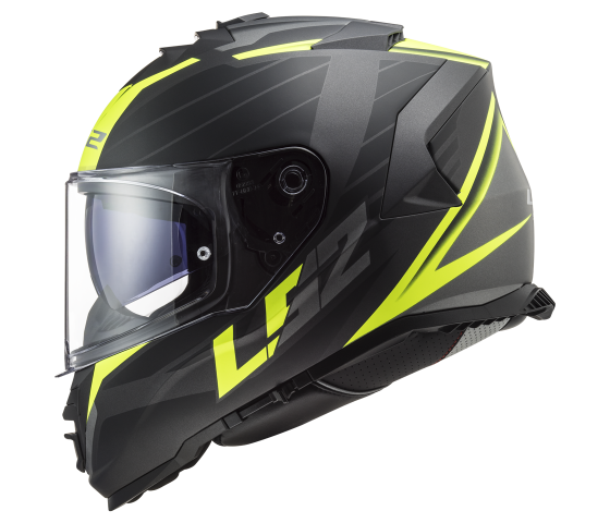 FF800 STORM NERVE Matt Black H-V Yellow