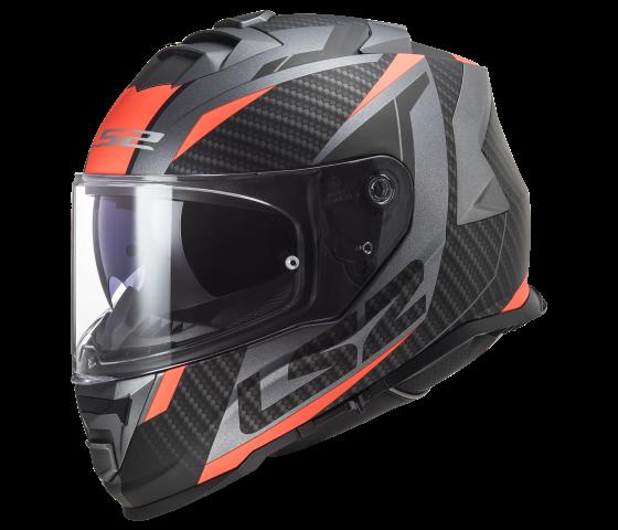 FF800 STORM RACER Matt Titanium Fluo Orange