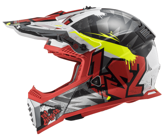 MX437 Fast EVO CRUSHER Black Red