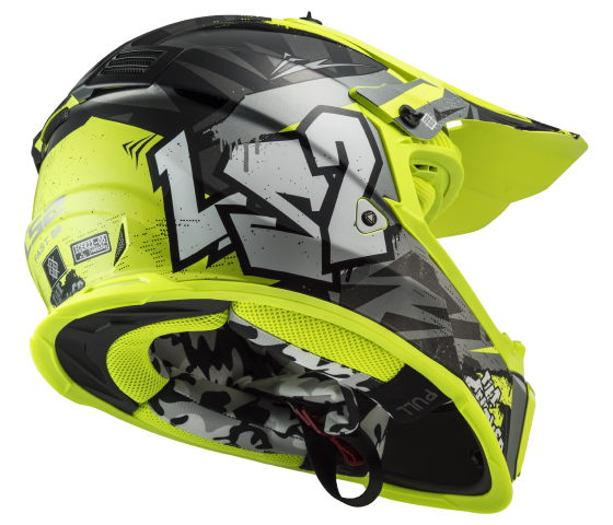 MX437 Fast EVO CRUSHER Black H-V Yellow