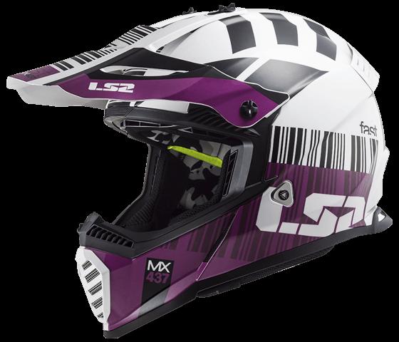 MX437 Fast EVO XCODE Gloss White Violet