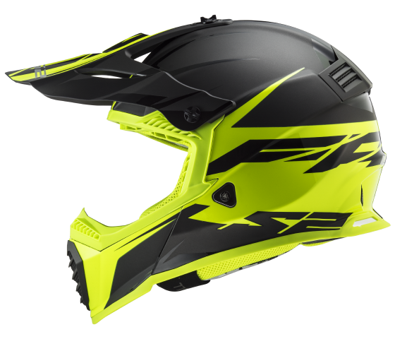 MX437 Fast EVO ROAR Matt Black Yellow