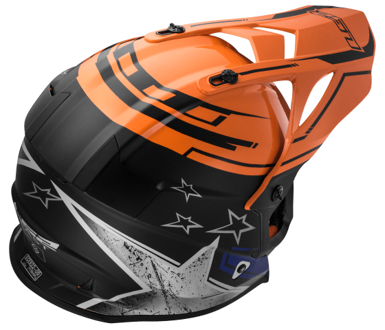 MX437 Fast CORE Black Orange