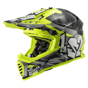 CRUSHER Black H-V Yellow