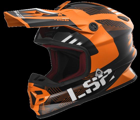 MX456 LIGHT RALLIE Orange Black