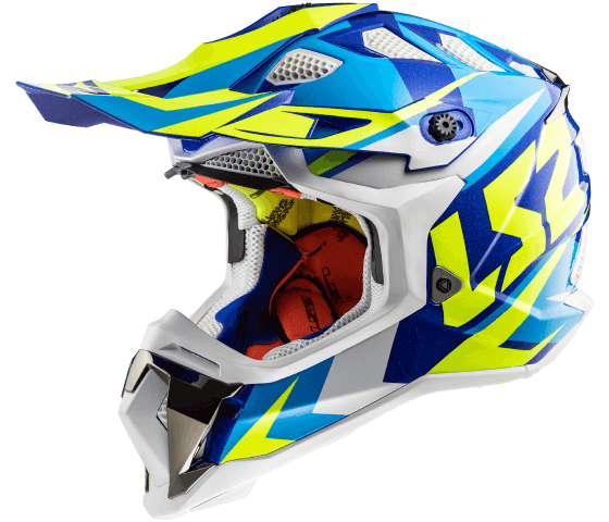 MX470 Subverter NIMBLE White Blue H-V Yellow
