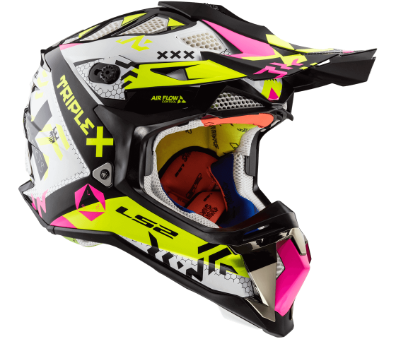 MX470 Subverter TRIPLEX Black Pink H-V Yellow