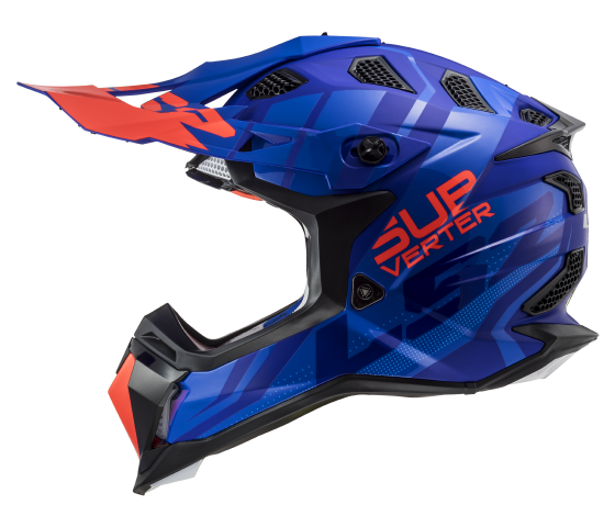 MX470 Subverter TROOP Matt Blue Fluo Orange