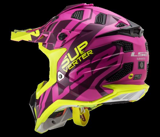 MX470 Subverter TROOP Matt Pink H-V Yellow