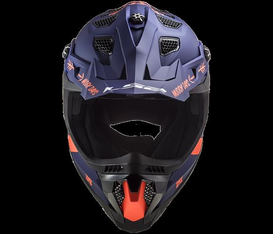 MX700 Subverter EVO CARGO Matt Blue Fluo Orange