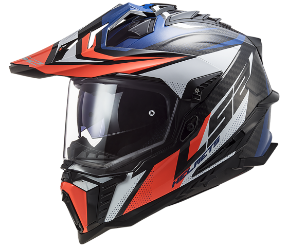 MX701 Explorer C CARBON Focus Blue White Red