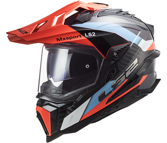 MX701 Explorer C CARBON Frontier Blue Fluo Orange