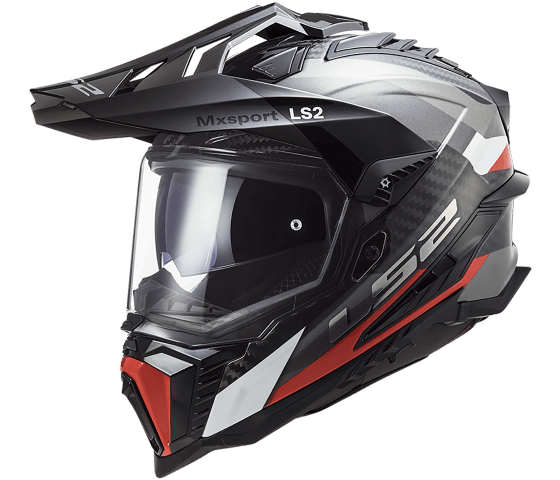 MX701 Explorer C CARBON Frontier Titanium Red