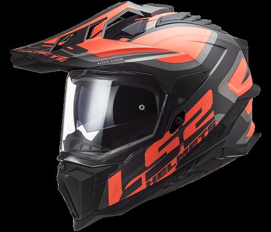 MX701 Explorer HPFC Alter Matt Black Fluo Orange