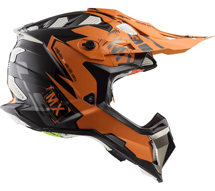 mx470 subverter emperor black orange ls2 helmets. Black Bedroom Furniture Sets. Home Design Ideas