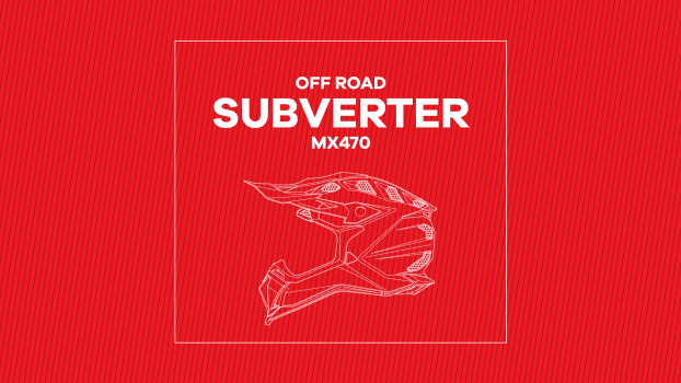 Video - MX470 Subverter TROOP Matt Black Red