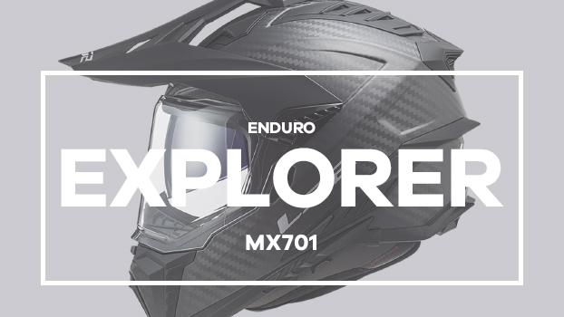 Video - MX701 Explorer C CARBON Frontier Titanium Red